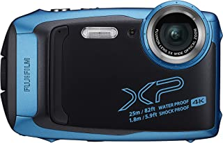 Fujifilm FinePix XP140 Waterproof Digital Camera-Sky Blue