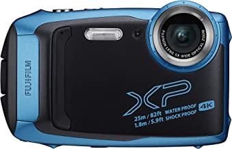 Fujifilm FinePix XP140 - Cámara Digital Compacta, Color Azul Claro