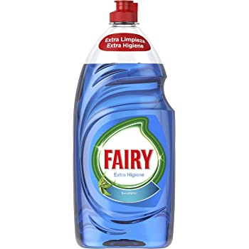 Fairy Extra Higiene Líquido para Lavavajillas Eucalipto - 4 ...