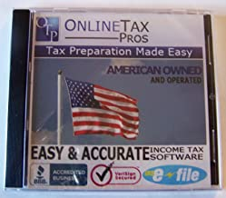 Online Tax Pros 2012 Income Tax Software