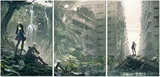 Printing Pira Nier Automata Cover Art Set of 3 Posters (13x19)