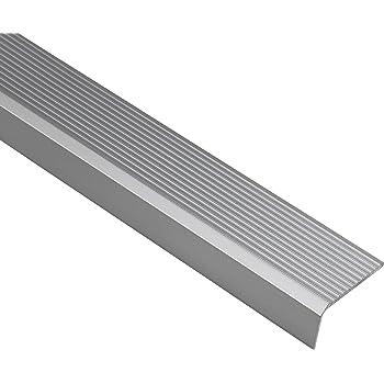 vinilo 50 x 42 RGP Perfil para bordes de escaleras goma PVC perfil angular autoadhesivo