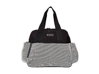 adidas Sport To Street Premium Tote (White/Black/White Mesh) Tote Handbags