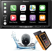 Pioneer AVH-W4500NEX Double DIN Wireless Mirroring Android Auto, Carplay In-Dash DVD/CD Car Stereo Receiver, 7