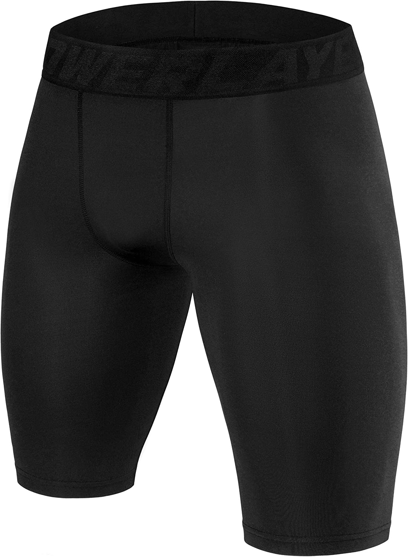 PowerLayer Boys' Compression Baselayer Shorts Thermal Shorts Underwear