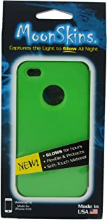 Moonskins MSK-WG01-01 Glow in the Dark Case for iPhone 4/4S - 1 Pack - Carrying Case - Retail Packaging - Green