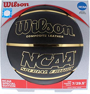 Wilson NCAA Black and Gold Basketball Official Size 29.5