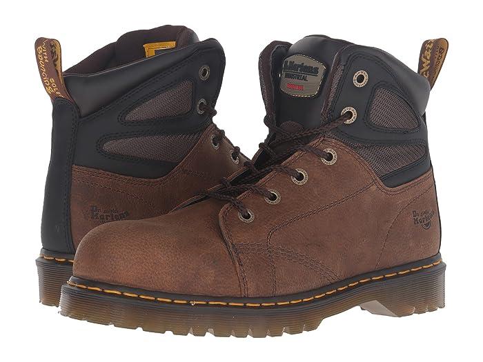 c8da6487a42 Dr. Martens Fairleigh Steel Toe 6-Eye Boot | 6pm