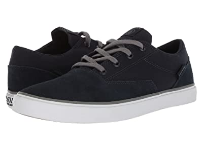 Volcom Draw Lo Suede Shoes (Blue Combo) Men