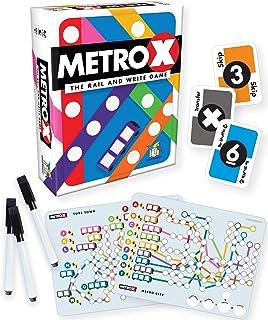 Gamewright Metro X - The Rail & Write Game