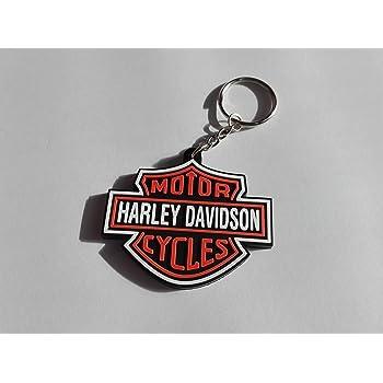 Moto Discovery Portachiavi Doppia Faccia con Cordino per i Modelli Harley-Davidson 1 pz