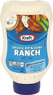 Kraft Ranch Dip & Dressing (22 oz Bottles, Pack of 8)