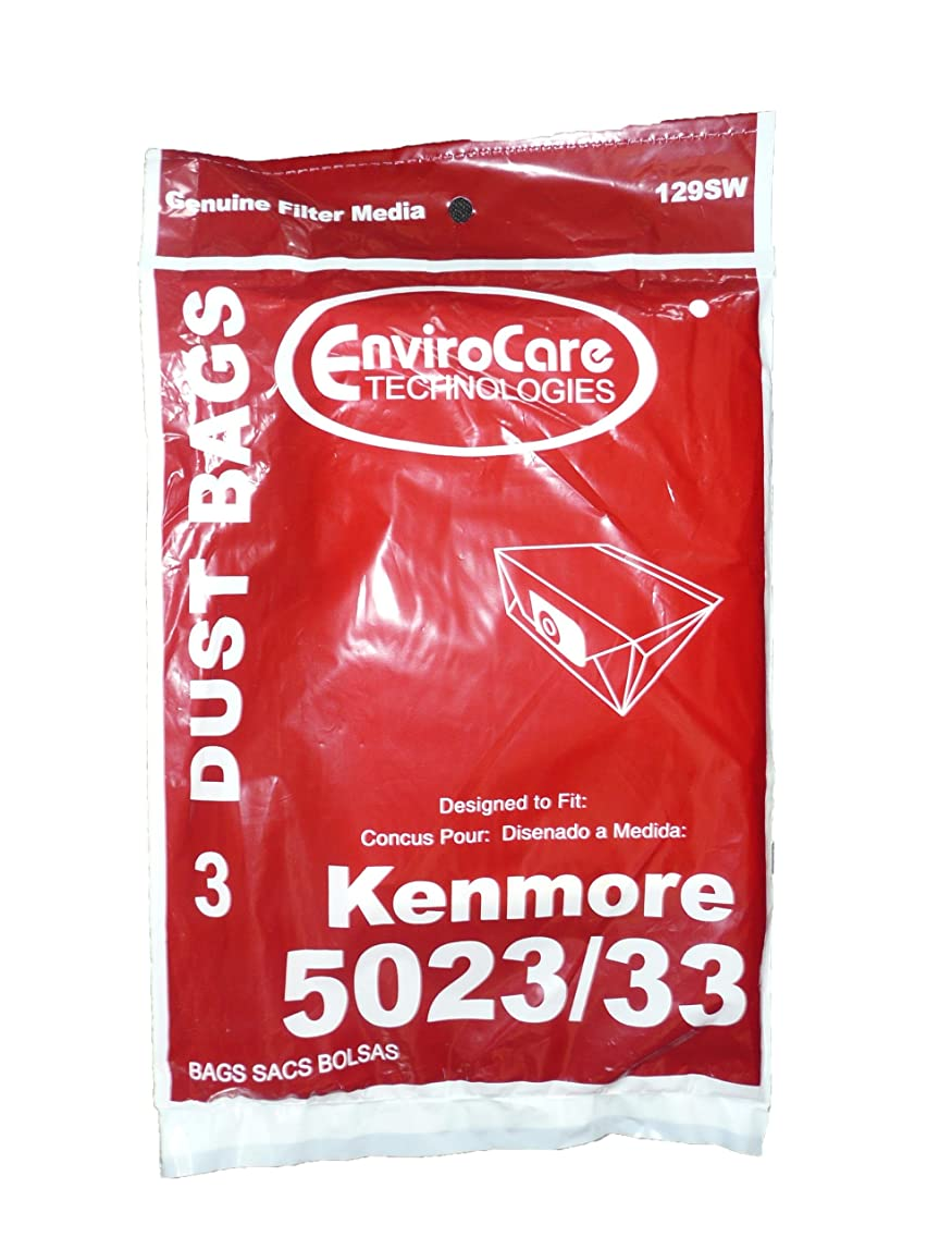 75 Kenmore Sears Allergy Vacuum Bag, Canister Vacuum Cleaners, 5023-5033 Bag Changed to Kenmore Type E for Manufacture Model # 609196, 116.25950