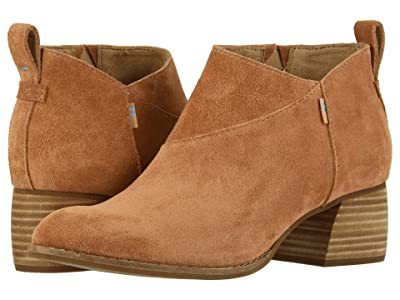 TOMS Leilani (Carmel Brown Suede) Women