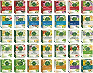 Traditional Medicinals Tea Bag Sampler - Unique Tea Sampler Variety with 70 Organic Herbal Teas - An Excellent Care Packag...