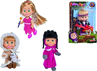 Masha and The Bear - Masha Style Doll Assortment