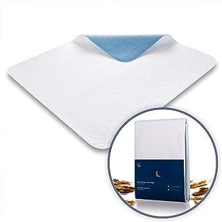 Blumtal Matratzenauflage, wasserdicht und waschbar - Saugvlies, 75x90cm, Inkontinenzunterlage 2er-Set