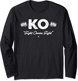 WWE The Prize Fighter Kevin Owens Fight Type Long Sleeve T-Shirt