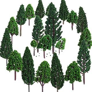 Bememo 22 Piezas de Modelo de Árbol 3 - 16 cm de Árboles