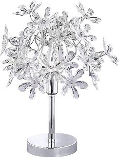 Reality Flower - Lámpara de sobremesa, para interior, SMD, LED, 4 W, 350 lm, color blanco