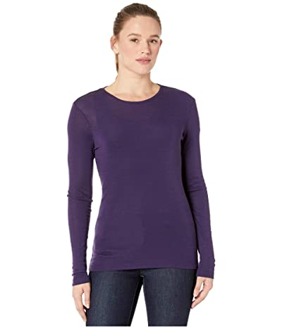 Icebreaker 175 Everyday Merino Baselayer Long Sleeve Crew (Lotus) Women