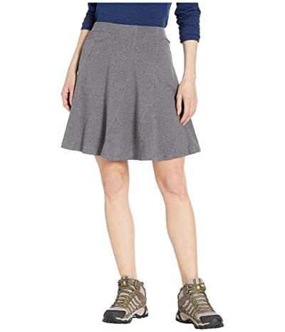 Toad&Co Chachacha Skirt (Charcoal Heather) Women