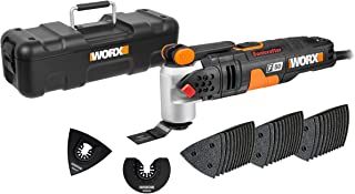 WORX WX681 F50 400W Sonicrafter Multi-Tool Oscillating Tool with 40 Accessories