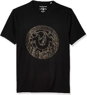 True Religion Men's Short Sleeve Crewneck Graphic Tee