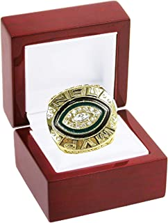 NFL Green Bay Packers (Aaron Rodgers 2014 NFL (League MVP) Replica Gold National Football League Championship Ring
