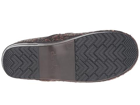 Dansko Fabric Pro Black Textured