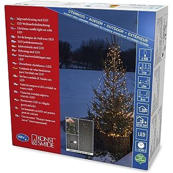 FHS LED-Lichternetz 160er 3,2 x 1,5 m warmweiß IP44 Adapter ***NEU***