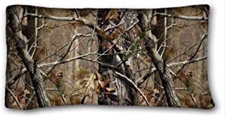 Tarolo Realtree Camo Pillow Cases Covers Standard Size Pillowcase Size 20x36 Inches Two Sided Print