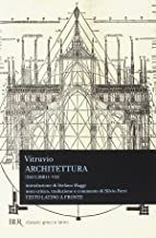 Architettura (dai libri I-VII) (Italian Edition)