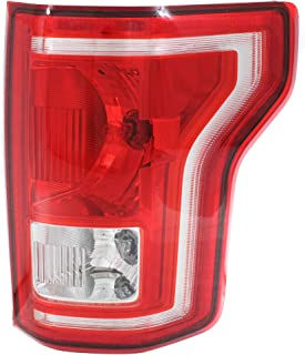 Tail Light for FORD F-150 2015-2017 RH Assembly Halogen All Cab Types - CAPA