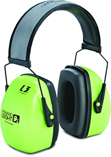 Howard Leight by Honeywell Earmuff LEIGHTNING L3HV HI VIZ