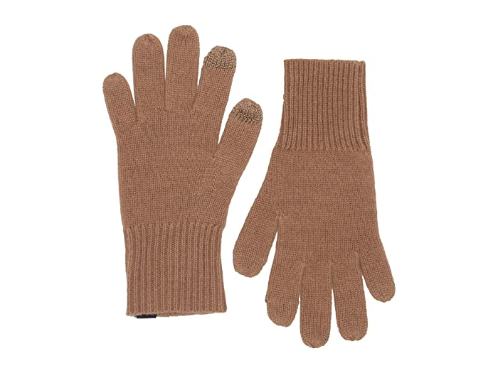rag and bone  Ace Cashmere Gloves (Camel) Extreme Cold Weather Gloves