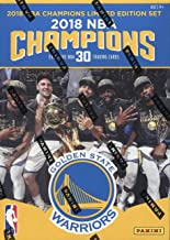 Golden State Warriors 2017 2018 LIMITED EDITION NBA CHAMPIONS Factory Sealed 30 Card Set with 4 Different Stephen Curry Cards including NBA Finals Highlights Plus Kevin Durant, Klay Thompson and More