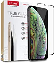 iCarez [ Sapphire Glass ] Screen Protector for iPhone 11 Pro Max iPhone Xs Max 6.5-Inch (Case Friendly) Premium Quality Easy to Install [ 1-Pack 0.33MM 9H 2.5D]