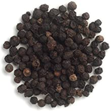 obbi fresh Black Pepper Whole Organic Pepper Corn (Kali Mirch Sabut) 250 m Grade - Big Size