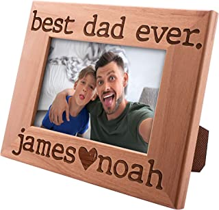 Best personalised fathers day picture frame Reviews