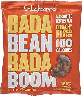 Bada Bean Bada Boom Roasted Broad Beans Mesquite BBQ, 28gm