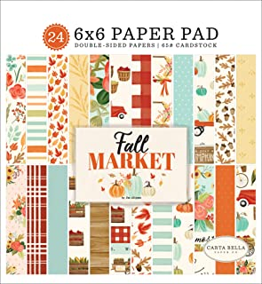 Carta Bella CHRISTMAS MARKET 6x6 Paper Pad 24pc