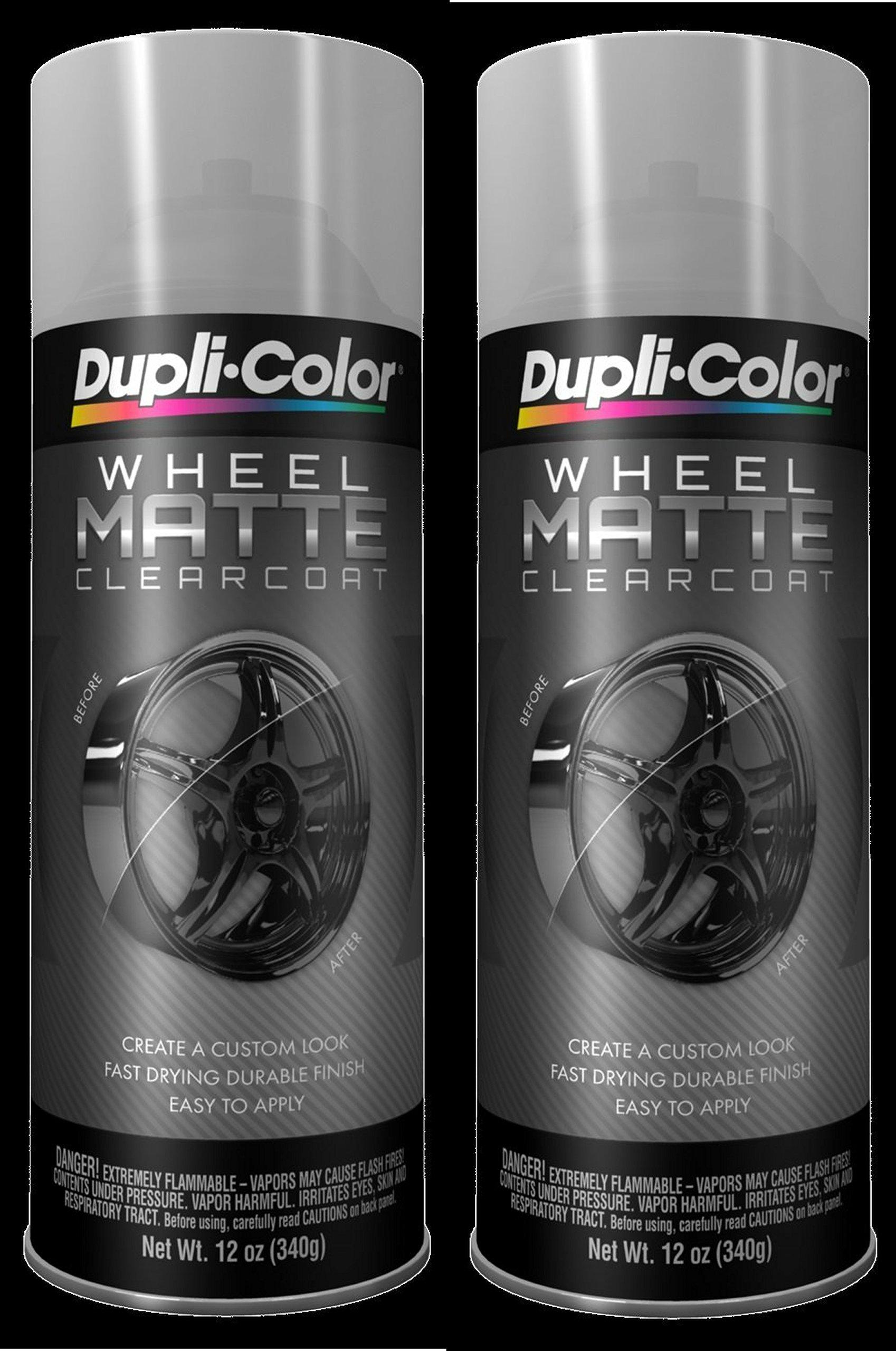 Dupli Color Hwp106 Matte Clearcoat High Performance Wheel