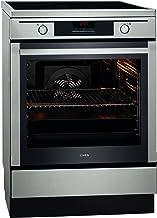 AEG Competence 68456IU-MN - Cocina eléctrica (A, 74 L, función de autolimpieza, inducción, acero inoxidable)
