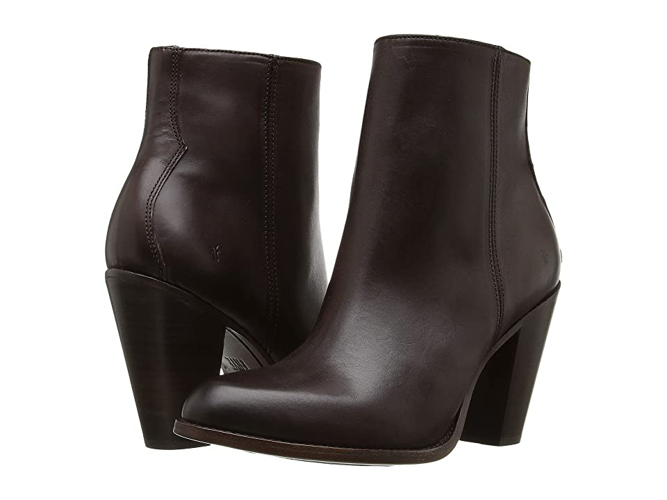 Frye Jenny Bootie (Dark Brown) Women