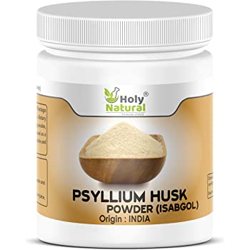 100% Psyllium Husk Powder (Isabgol) - 200 GM by Holy Natural