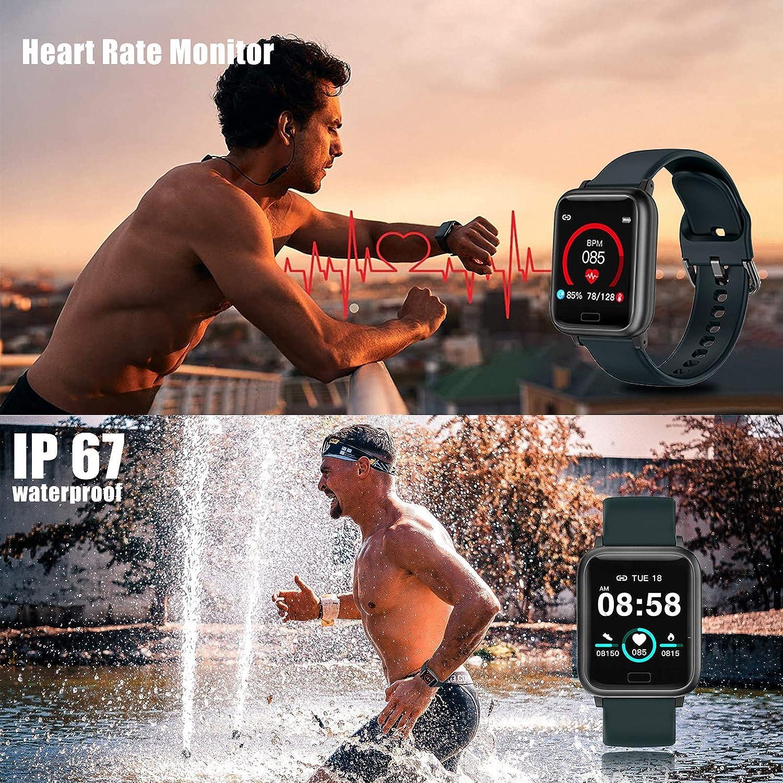 miniature 11 - Smart Watch Fitness Tracker BP fréquence cardiaque étape Calorie Sommeil Moniteur Étanche