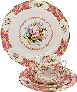 مجموعة أواني المائدة  ليدي كارليل من رويال البرت 5 Piece 798901365686
