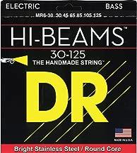 DR Strings Hi-Beam - Stainless Steel Round Core Medium 6 String 30-125