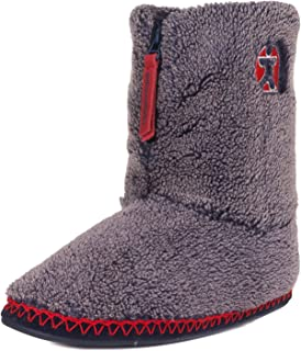 Men's Crowe Snow Tipped Sherpa Slipper Boots